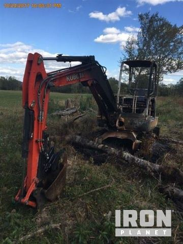 2014 Kubota KX040-4 Mini Excavator in Starkville, Mississippi