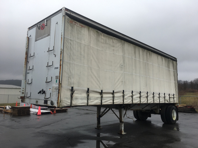 1992 Great Dane GPCAR 128 Curtain Side Trailer