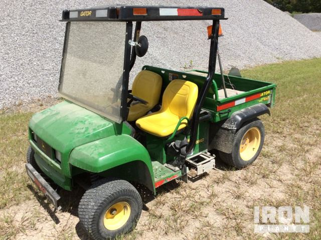 photos u0026 videos & John Deere Gator 4x2 Utility Vehicle w/ Enclosed S/A Utility Trailer ...