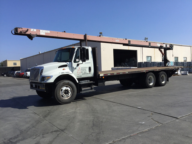 Flatbed Truck w/Conveyor For Sale   IronPlanet