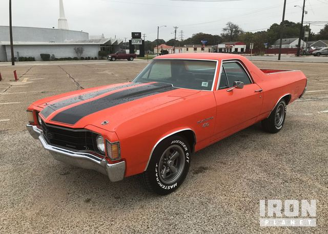 1972 Chevrolet El Camino SS Pickup in Fort Worth, Texas, United