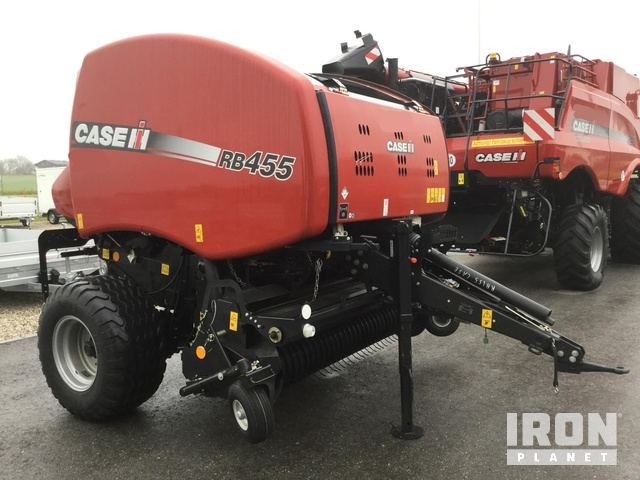 2018 Case IH RB455 Round Baler - New in Gampern