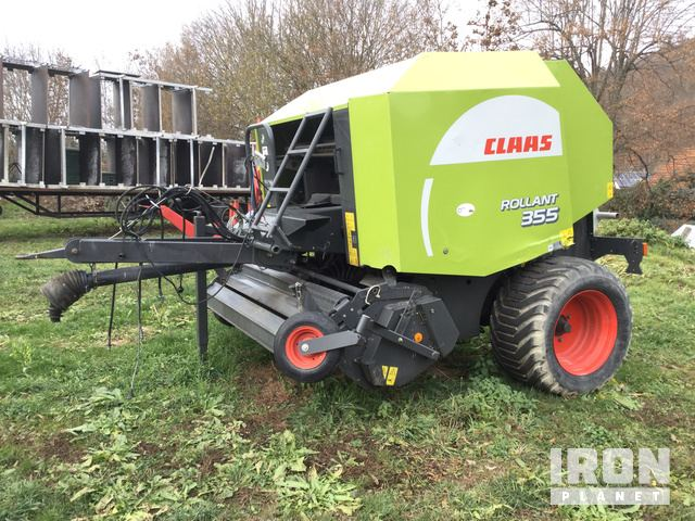 2008 Claas Rollant 355 Round Baler in Gera, Germany (IronPlanet