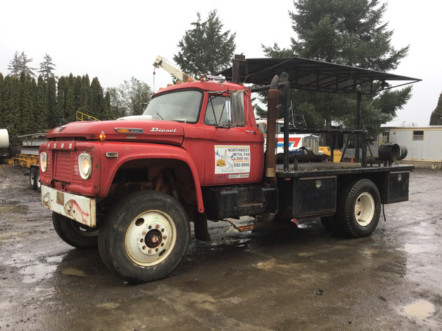 Ford S A Flatbed Truck For Sale Ironplanet