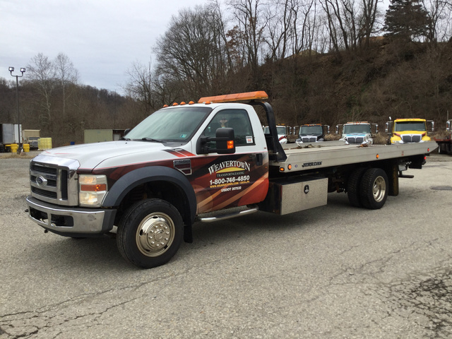 Ford F  Super Duty Rollback Truck
