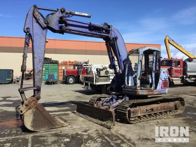 Komatsu PC128UU-1E Track Excavator in South San Francisco