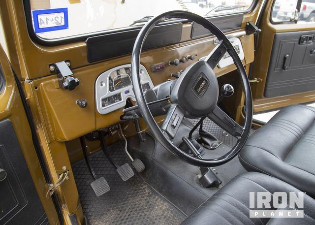 1980 Toyota FJ43 Land Cruiser SUV in Oklahoma City, Oklahoma