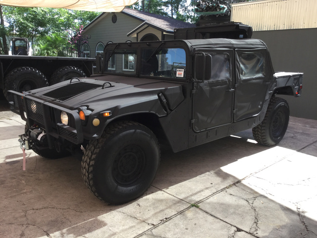 1998 am general hummer winch mount manua