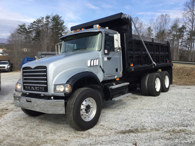 6dbb4360c3 2007 Mack CTP713 T A Dump Truck