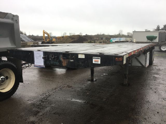 Flatbed Trailers For Sale | IronPlanet