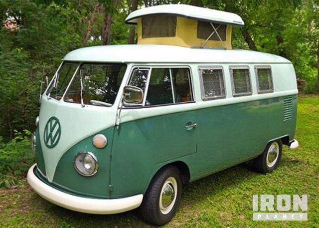 1965 Volkswagen Split Window Camper Bus in Newcastle, Oklahoma