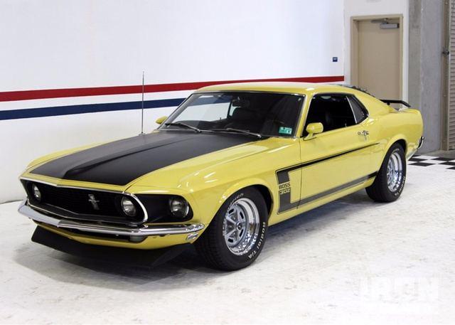 1969 Ford Mustang Boss 302 in Hartshorne, Oklahoma, United