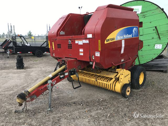 2012 (unverified) New Holland BR7060 Round Baler in Humble