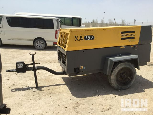 2014 Atlas Copco XA-157 Air Compressor in Doha, Qatar (IronPlanet