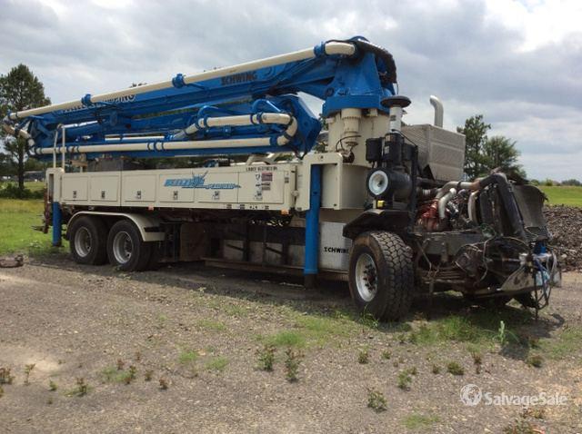 Schwing 2023-5/S39SX Concrete Pump on 2014 Peterbilt 320 T/A