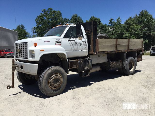 1991 (unverified) GMC C6500 S/A Flatbed Truck in Beckley, West