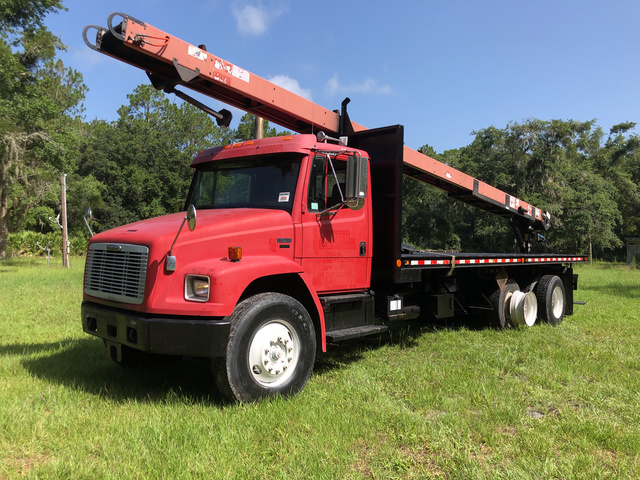 Flatbed Truck w/Conveyor For Sale | IronPlanet
