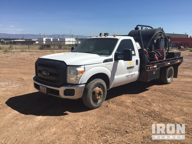 2012 Ford F-350 Portable Toilet Pump Truck in ROOSEVELT