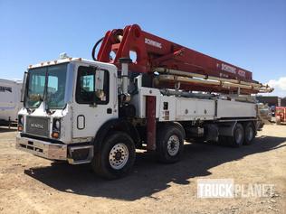 Concrete Pump Trucks For Sale | GovPlanet