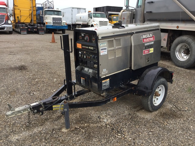 2012 Lincoln Electric Vantage 400 Mobile Multi-Process Engine Driven Welder