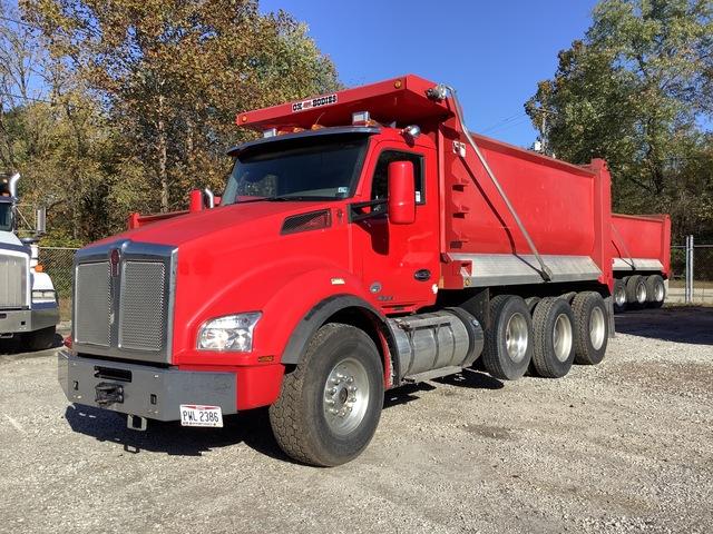 2016 (unverified) Kenworth T880 6x4 Tri/A Dump Truck