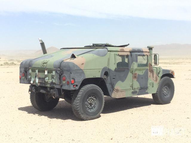 Surplus 2004 AM General M1045A2 HMMWV 4 Door Hard Top w/Slant Back ...