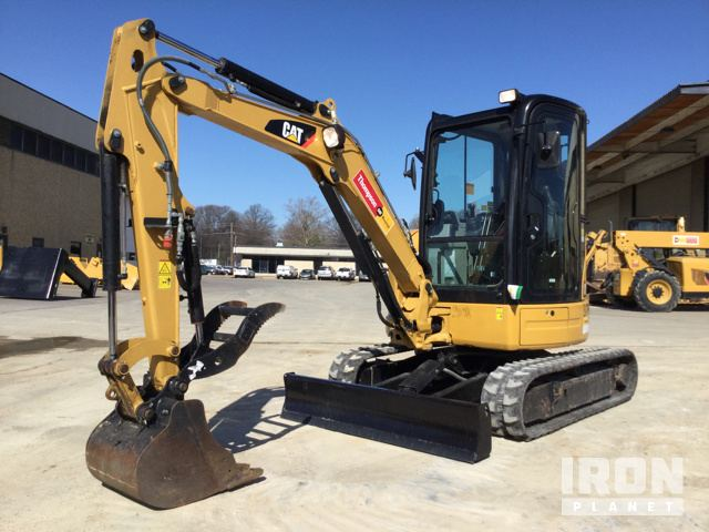 Cat  Ecr Mini Excavator Spec S