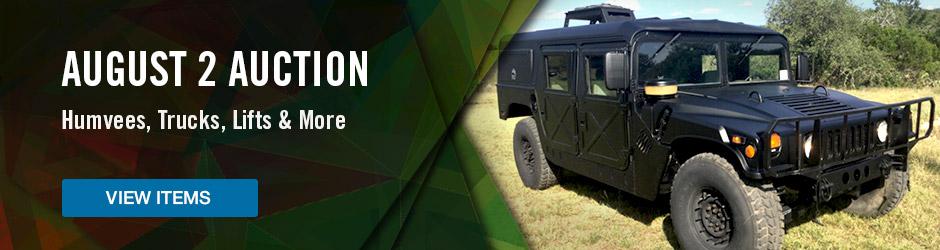 U.S. Marin Corp Surplus Auction