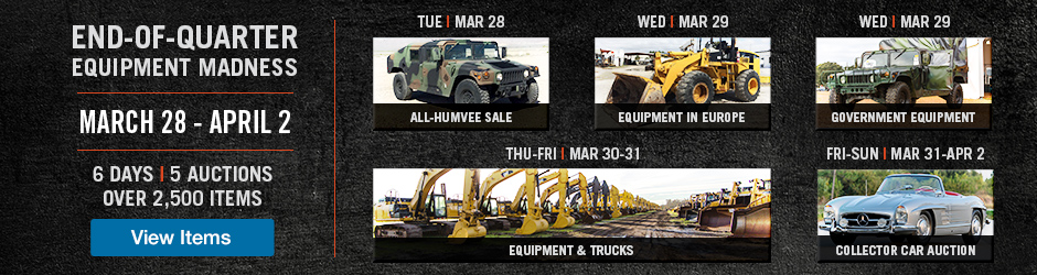 Equipment and Truck Auction | March 23