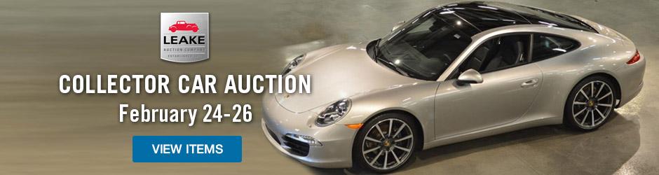 Leake Auto Car Auction