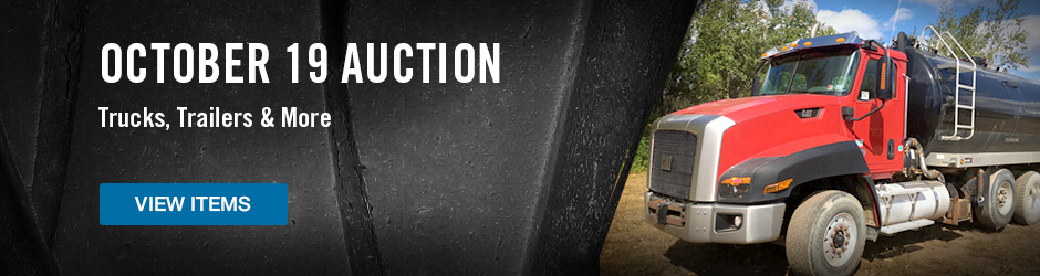 Upcoming TruckPlanet Auction