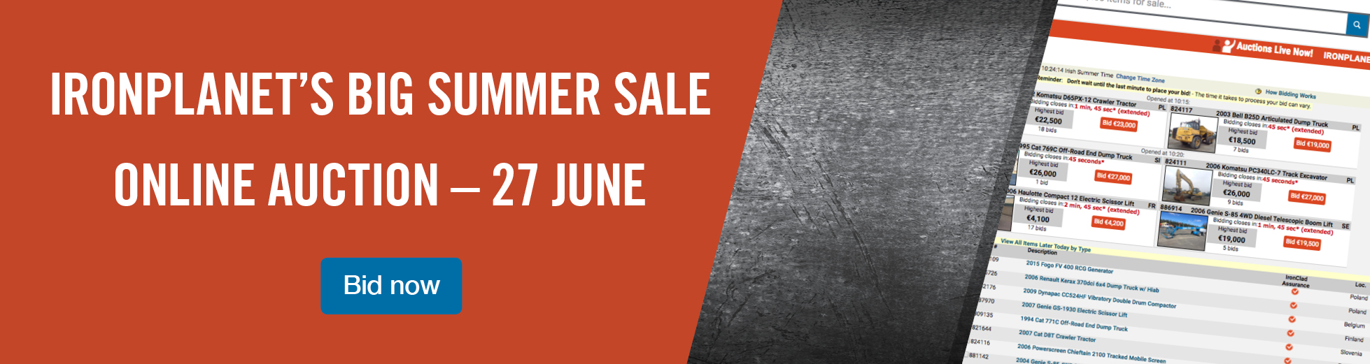 Big Summer Sale 27 June
