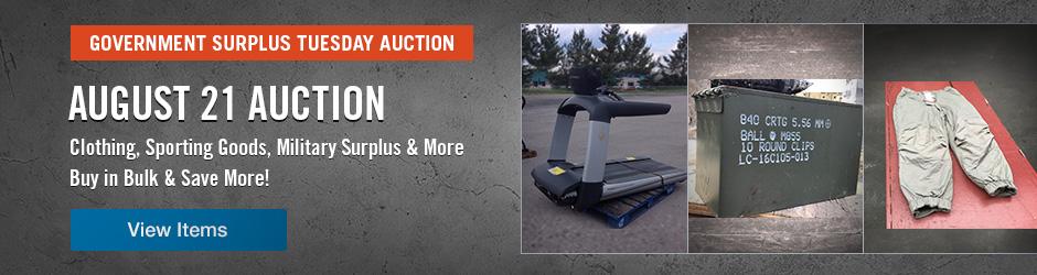 Upcoming IronPlanet Auction
