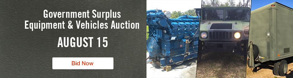 Upcoming IronPlanet Auction