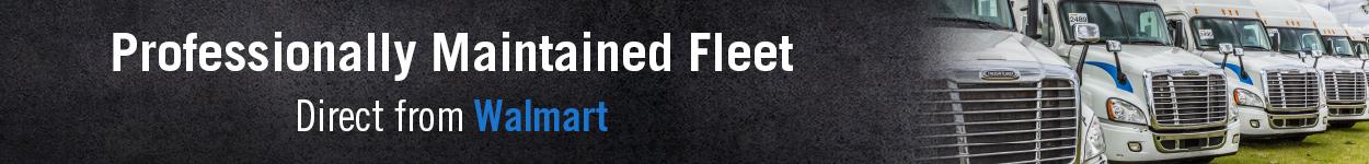 Walmart fleet trucks for sale